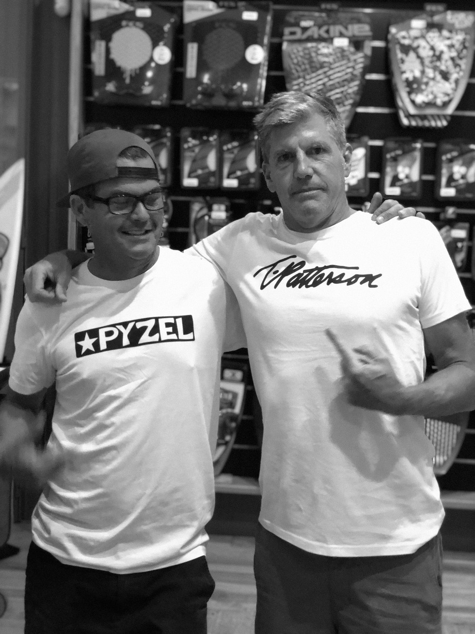 TIMMY PATTERSON & PYZEL @ POLEN SURF SHOP OCT 24