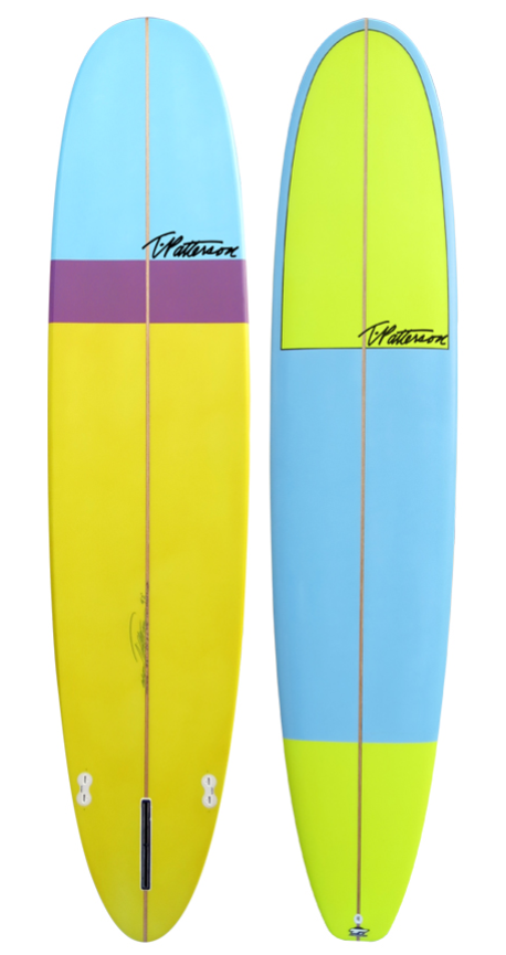 California Nose Rider model by T.Patterson Surfboards