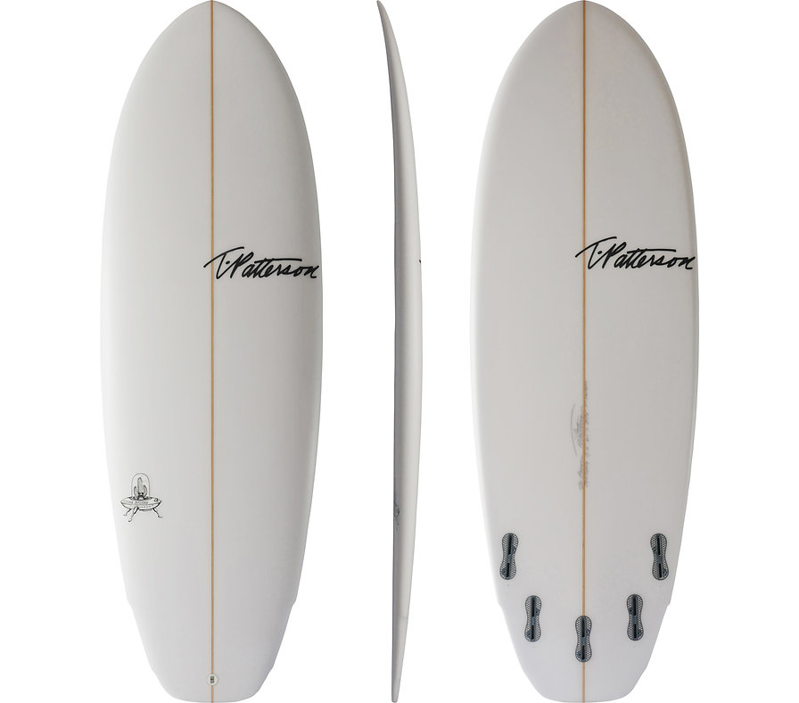 Flying Saucer model by T.Patterson Surfboards