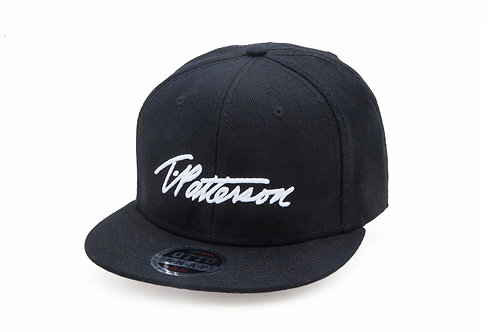 T.Patterson Black Signature Snap Hat
