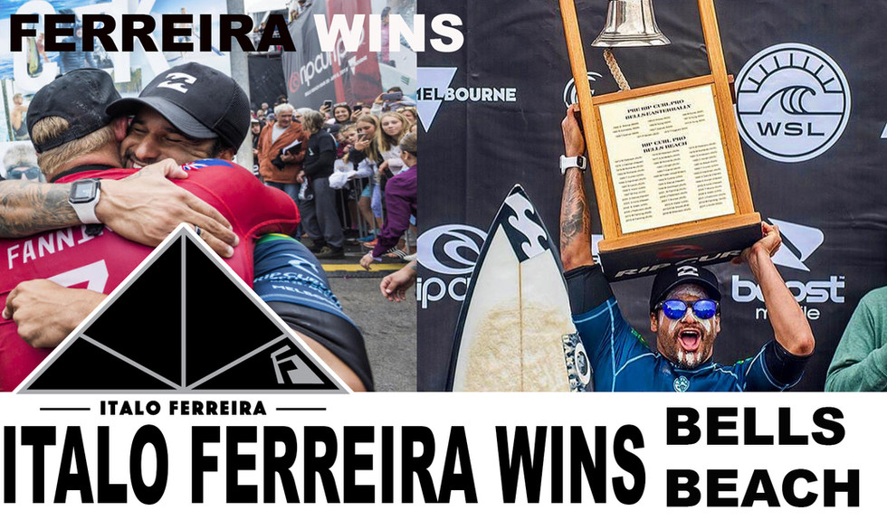 ITALO FERREIRA WINS Bells Beach