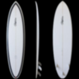 TP-F Hybrid model by T.Patterson Surfboards