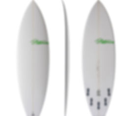 Chopped Clam model by T.Patterson Surfboards