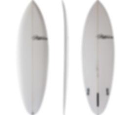 Single Fin model by T.Patterson Surfboards