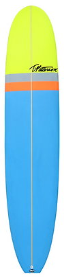 The California Classic longboard model by T.Patterson Surfboards