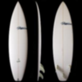 Triple X model by T.Patterson Surfboards