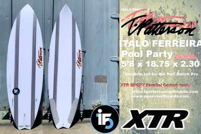 Italo Ferreira's XTR Epoxy Parallel Carbon Board