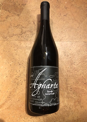 Agharta Central Coast Syrah 2017