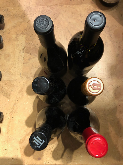 6 Bottle Assortment - All Red