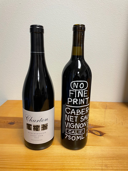 2 Bottle Monthly Wine Club - 2 Reds