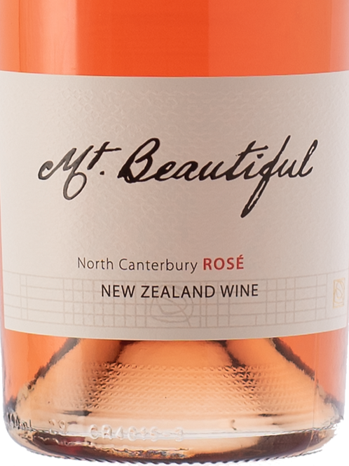 12 bottle case of Mt Beautiful Rose of Pinot Noir