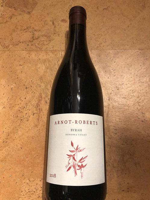 Arnot-Roberts Sonoma Coast Syrah 2018