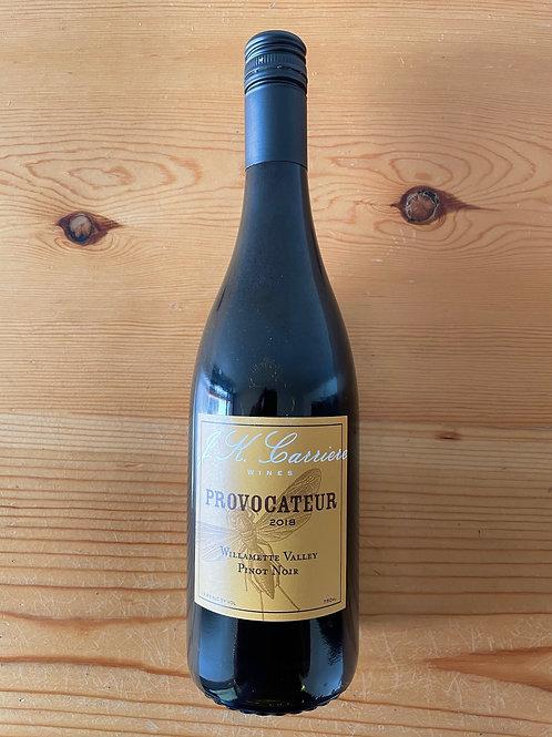 "J.K. Carriere ""Provocateur"" Willamette Valley Pinot Noir 2018"