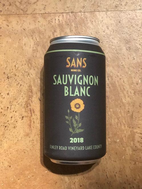 Sans Wine Co. Sauvignon Blanc 2018 375ml