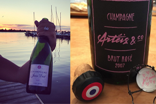 Monthly Wine Club - 4 bottles: All Bubbles!