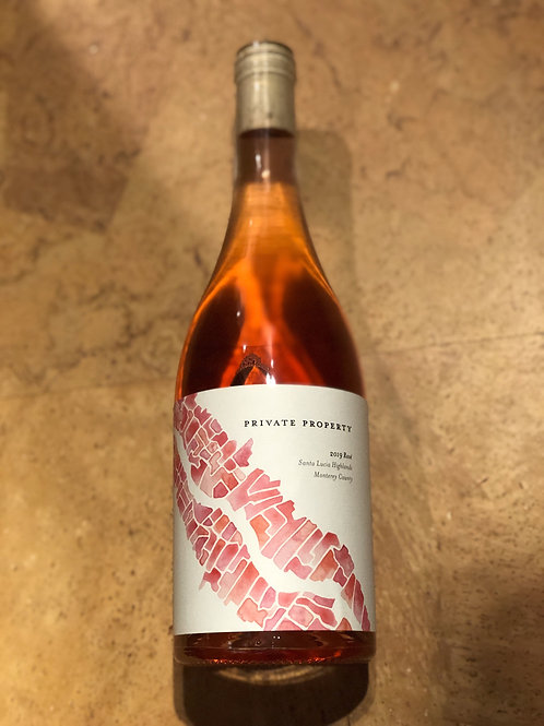 Caraccioli Private Property Rose of Pinot Noir, Santa Lucia Highlands CA 2019