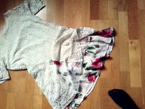 Upcycling ehk õmblesin endale vana uue kleidi