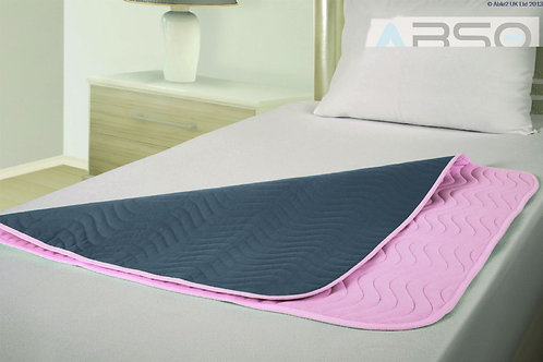 Vida Washable Bed Pad - Midi - 90 x 90cm - with tucks