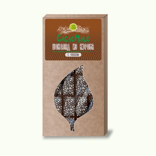 """Шоколад из кэроба с кокосом """"CacaoMalo"""" 85г"""