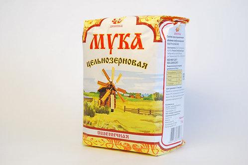 """Мука пшеничная цельноцерновая """"Дивинка """" 1кг"""