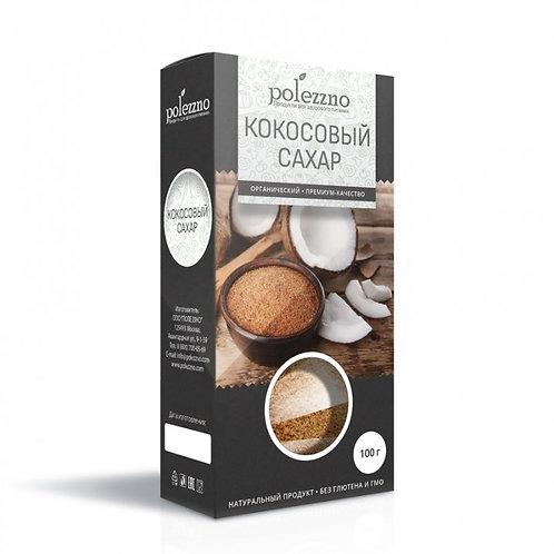 """Кокосовый сахар """"Полеззно"""" 100г"""