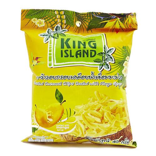 """Кокосовые чипсы с манго """"KING ISLAND"""" 40г"""