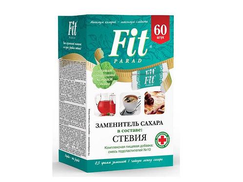 "Сахарозаменитель ""ФитПарад № 10  СТИКИ 60 шт"