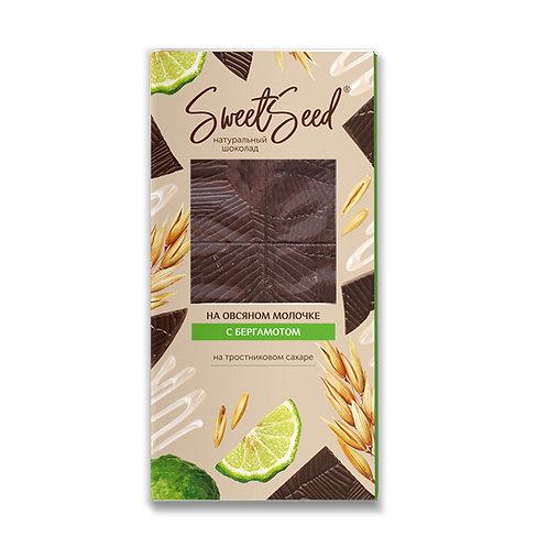 Шоколад на овсяном молочке с бергамотом «SWEETSEED» 85г