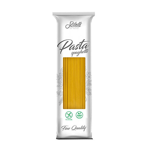 Спагетти кукурузные БЕЗ ГЛЮТЕНА Sotelli 500г