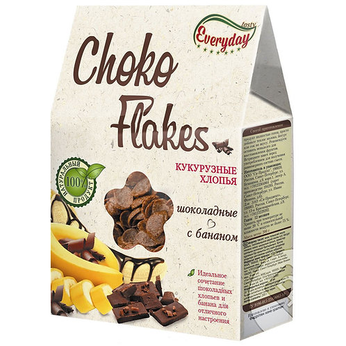 "Хлопья кукурузные шоколад + банан ""Everyday"" 200г"