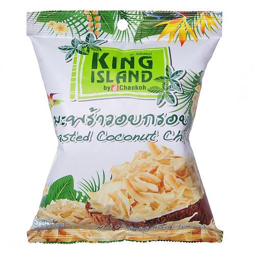 """Кокосовые чипсы 40 г  """"King Island"""""""