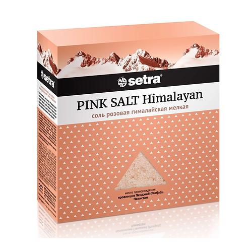 """Соль розовая гималайская мелкая """"Setra"""" 500г"""