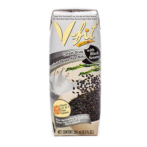 """Молоко из коричневого риса с черным кунжутом """"V-FIT"""" 250 мл"""