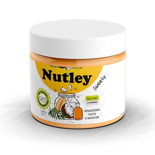 """Паста арахисовая с кокосом """"Nutley"""" 300г"""
