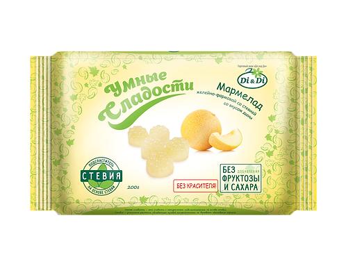Мармелад  со вкусом дыни «Умные сладости» 200г