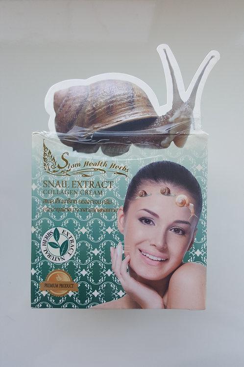Коллагеновый крем для лица с экстрактом улитки  Siam Health Herbs 30гр