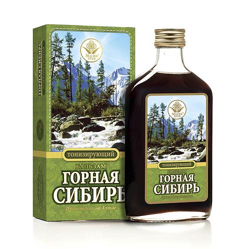 """Бальзам Тонизирующий """"Горная Сибирь"""" 250мл"""