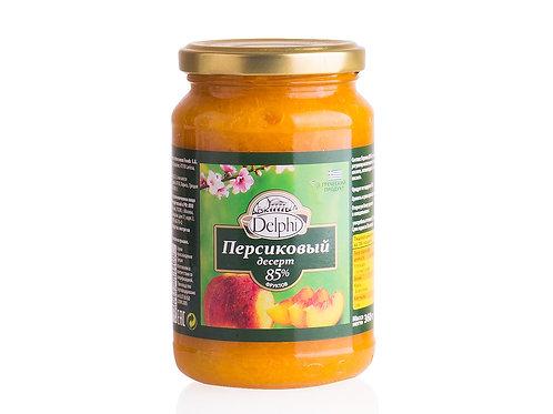 """Десерт персиковый """"Delphi"""" 360г, шт"""