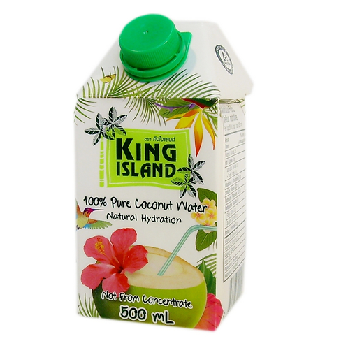 "Кокосовая вода без сахара ""KING ISLAND""  500 мл"