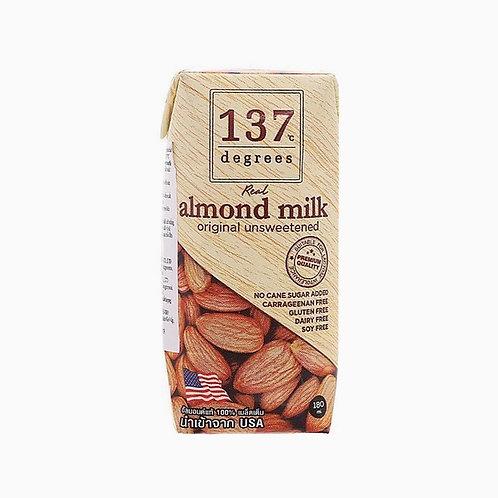 """Миндальное молоко без сахара """"Degrees"""" 180мл"""