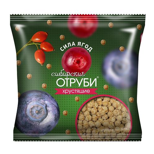 """Отруби хрустящие """"СИЛА ОВОЩЕЙ"""" 100г"""