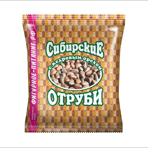 """Отруби пшеничные с кедровым орехом """"Сибирские"""" 200г"""