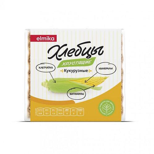 """Хлебцы хрустящие кукурузные """"Эльмика"""" 95г"""