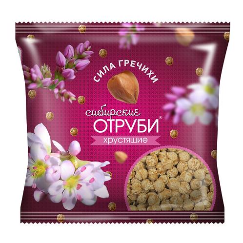 """Отруби хрустящие  """"СИЛА ГРЕЧИХИ"""" 100г"""