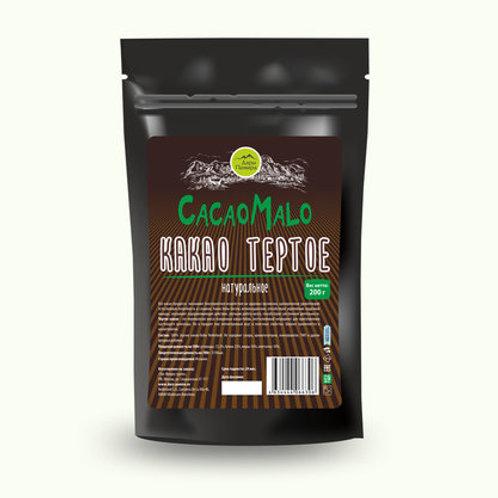 "Какао-тертое Кот-д-Ивуар ""Африкана"" 200г"