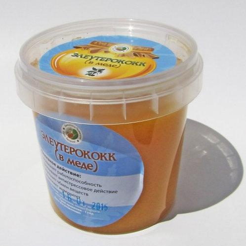 """Мед с элеутерококком """"Дикоросы Приморья"""" 150мл"""