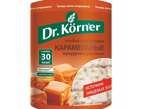 "Хлебцы «Злаковый коктейль» Карамельные ""Dr korner"" 100гр"