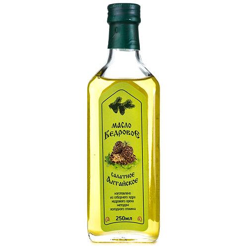 Масло растительное из ядра кедрового ореха «Алтайское» 250мл