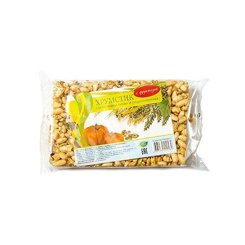 Хрумстик с семечками тыквы и подсолнечника на фруктозе 45г