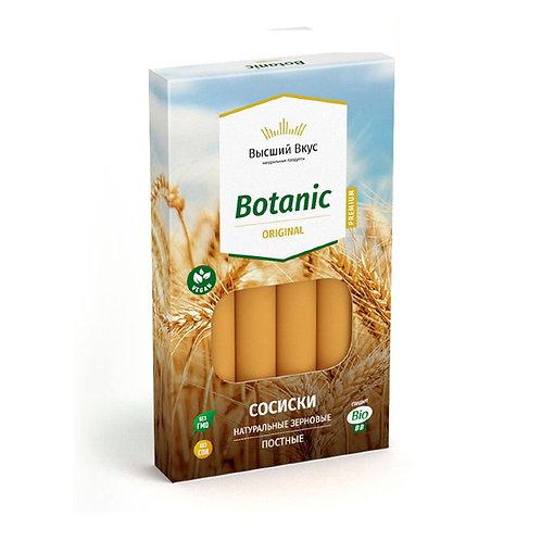 """Сосиски зерновые """"Botanic Original"""" """"Высший вкус"""" 200г"""